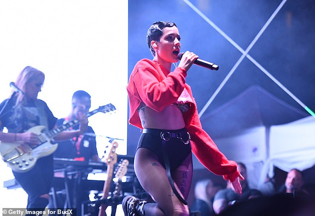 More honest talk: Halsey also criticized The Grammys for snubbing The Weeknd, who also had a commercially successful new album, After Hours, in 2020