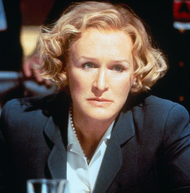 Glenn Close reveals she REFUSED to cry onscreen playing US vice president in Air Force One