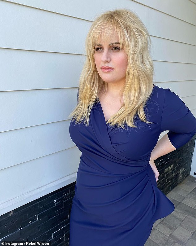 Impressive: The Pitch Perfect star embarked on a healthy lifestyle which has seen her lose at least a staggering 30kg