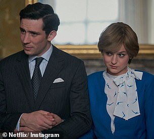 Uncanny: The Crown's Emma Corrin and Josh O'Connor recreated Princess Diana and Prince Charles' engagement day shoot in new stills from the upcoming fourth season of the Netflix hit