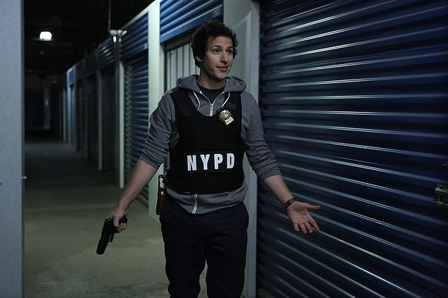Tight Balance: Samberg said the show will try to be honest about police corruption while also