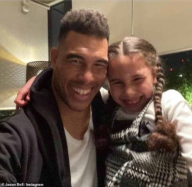 Affectionate dad: Athlete couldn't hide his smile as he gushed about his 'in-laws', fueling rumors of reconciliation in the process