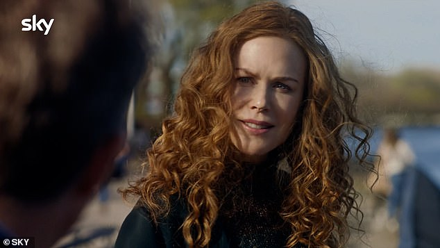 Shocking:A major cliffhanger at the end of episode five left viewers once again questioning the culprit, after Grace Fraser [Nicole Kidman] discovered a mallet - the potential murder weapon - hidden in a violin case in her son Henry's bedroom