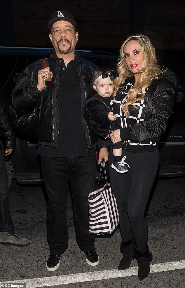 Family matters: Ice-T shares five-year-old daughter Chanel with wife Coco Austin
