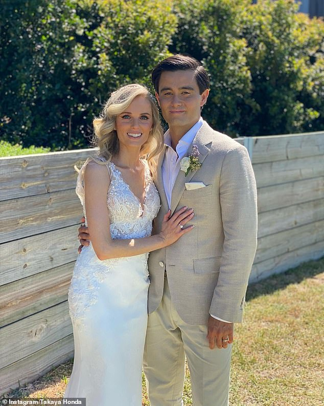 Inside Neighbours star Takaya Honda's stunning Byron Bay nuptials