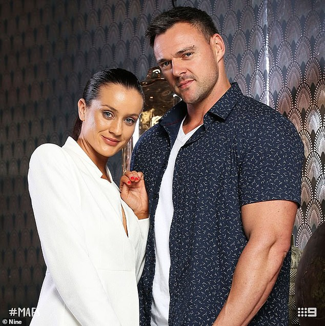 Remember us?Bronson rose to fame after he 'married' Ines Basic on the 2019 season on the Channel Nine dating experiment