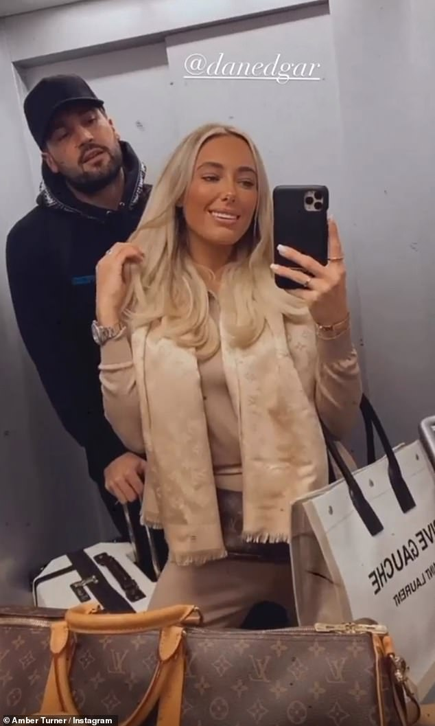 Holiday!Amber Turner and her boyfriend Dan Edgar have jetted to Dubai despite the UK nearing the end of its second lockdown on Wednesday 2 December