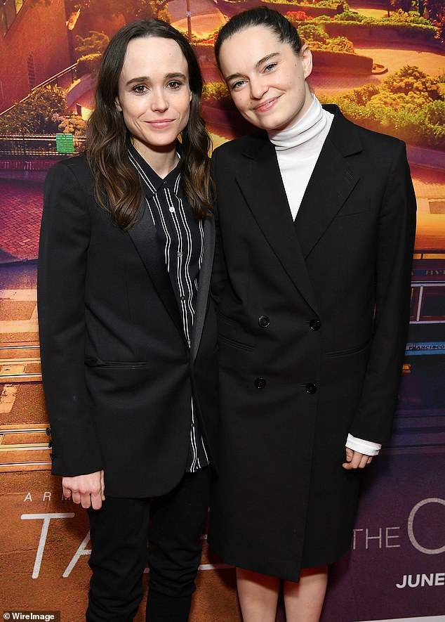 Privacy: Elliot Page's wife Emma Portner has deleted her Instagram account