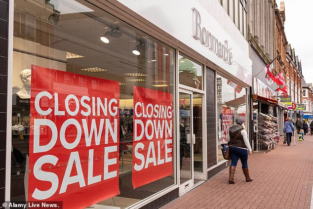 It comes after Bonmarche plunged into administration in October 2019, before administrators struck a bailout deal with retailer Peacocks