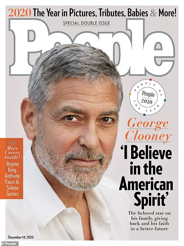 Bravo: Clooney named People magazine's People of the Year in latest issue