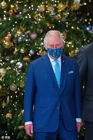 The couple's first official public engagement since the second lockout in England showed their support for tourism and the arts institution during the pandemic crisis.  In the photo, Prince Charles