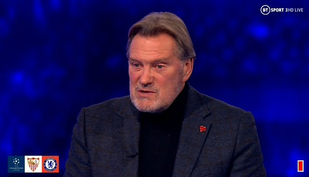 Glenn Hoddle rates Frank Lampard's Chelsea side better than Barcelona and Real Madrid