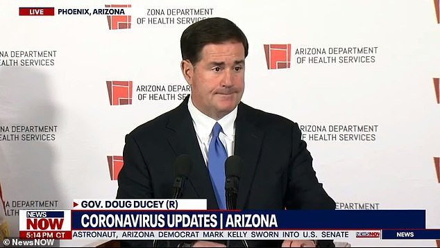 Arizona's Republican Gov. Doug Ducey CONFIRMS he ignored Trump's phone call during press conference