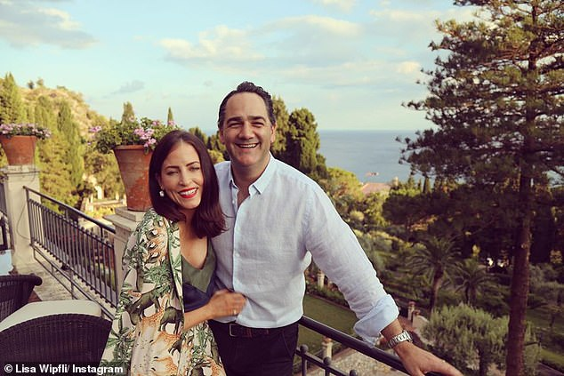 Nice pad! In comparison to the rumoured $6.5million Lisa and her Nova star husband (both pictured) spent on a six-storey property in Sydney's Rose Bay in June 2019, the cost of the outfit is a small price to pay to stay stylish