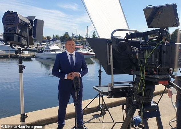 Bad news: Mike's return to Channel 10 comes after he was made redundant in September. At the time, he told The Daily Telegraph he was 'caught of guard' to learn he was getting boned by the network over the phone