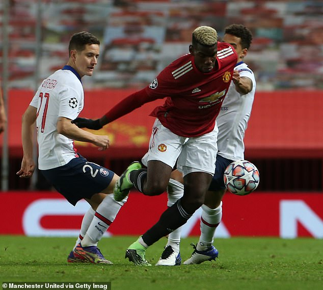 Paul Pogba replaced Marcus Rashford shortly after Fernandes signaled Solskjaer, but some United fans fear the incident will mean deeper unease at the club.
