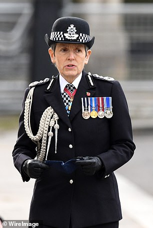 Metropolitan Police Commissioner Dame Cressida Dick (pictured) said the force was working 'really, very closely' with German authorities, but did not expect them to share all of their evidence.