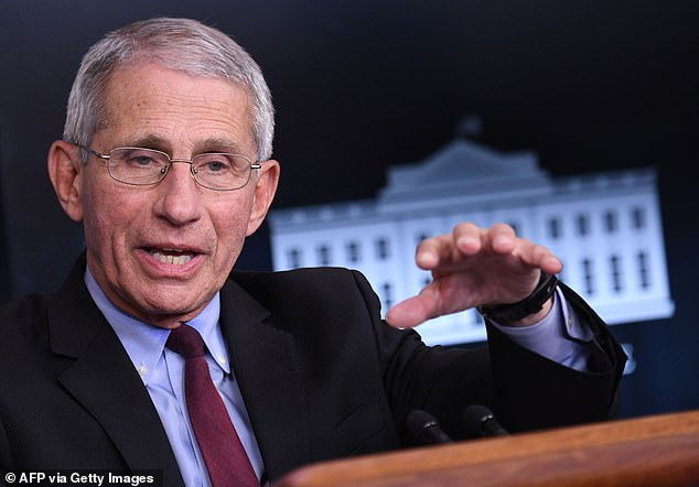 More than 40% of Americans want Dr. Fauci to take the COVID vaccine first