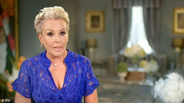 Larger-than-life characters: Tessa, 50, who jokes she's often called the 'Kris Jenner' of Jersey, gave a sense of her 'no-nonsense' personality, describing herself as 'straight talking'