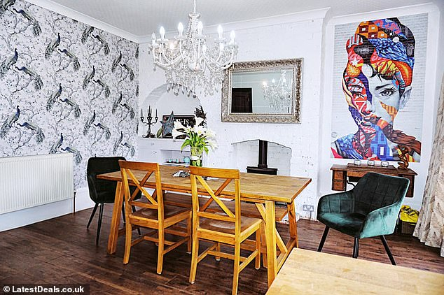 Go big or go home! Deborah said there are benefits to a splash of colour: they are more likely to attract buyers looking for listings and bring personality to a home