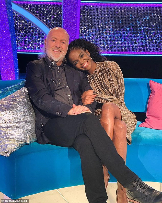 Pressure on! Bill Bailey has revealed that he is desperate to win this year's competition because a lot of his friends have confidently placed bets on him