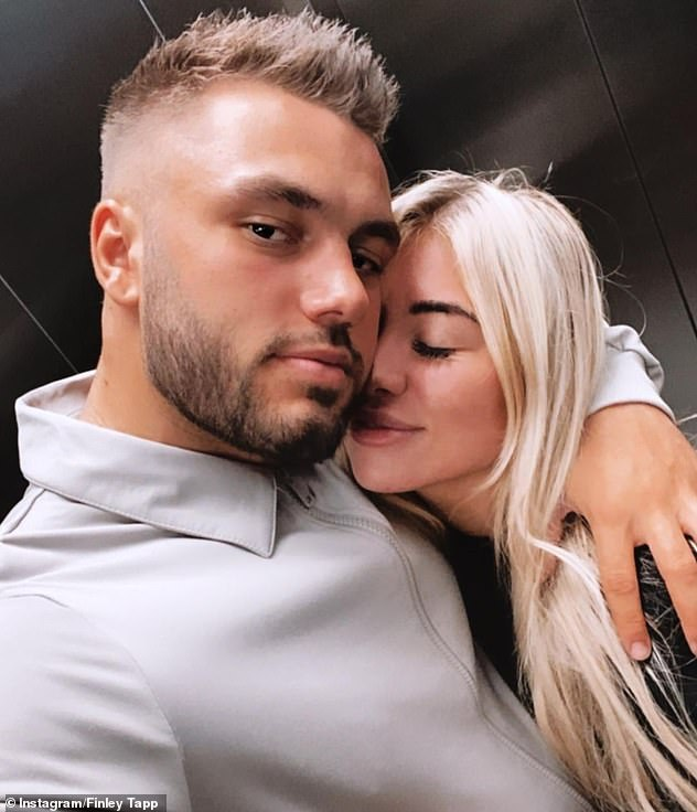 Marriage plans: Their outing comes as Finn revealed 'there's no question in his mind' that he will marry Love Island co-star Paige Turley