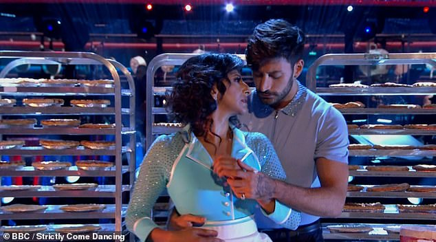 Wow! Ranvir and Giovanni dazzled with a beautiful Viennese Waltz to She Used To Be Mine from Waitress