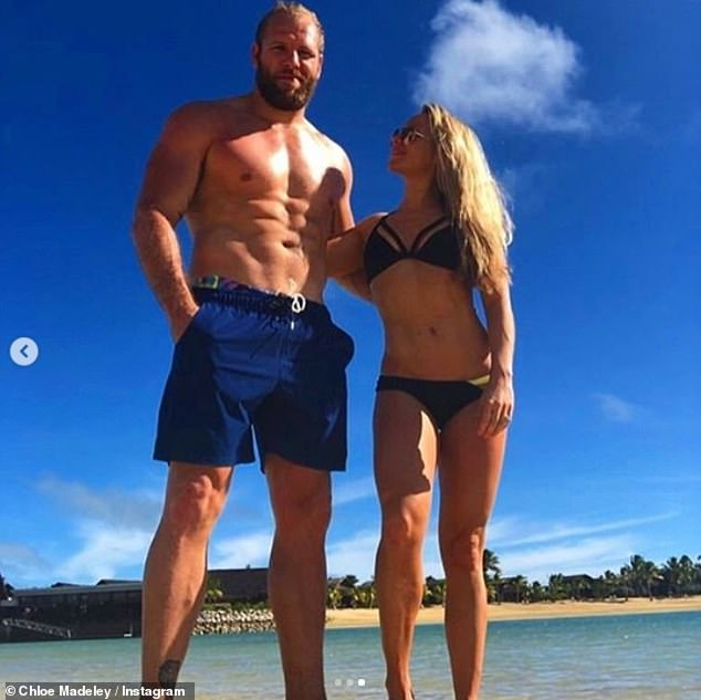 New venture: Chloe Madeley and husband James Haskell 'are set to share saucy snaps on OnlyFans after joining the racy subscription service', it was reported on Saturday