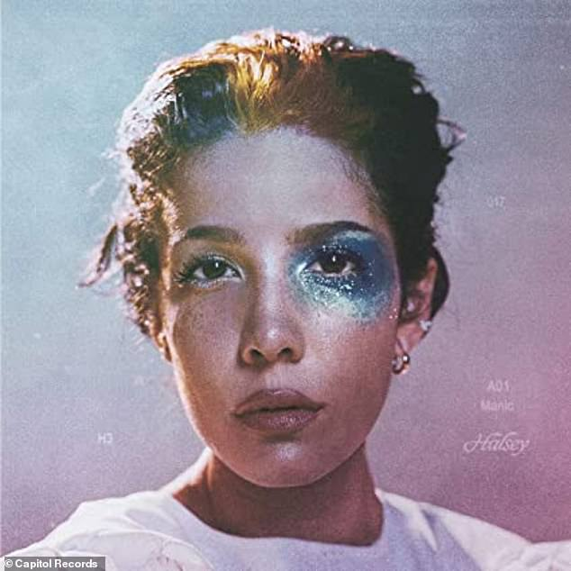 Topping the charts: Halsey dropped her third studio album Manic in January, topping the charts with her single Without Me, her first No. 1 as a lead artist
