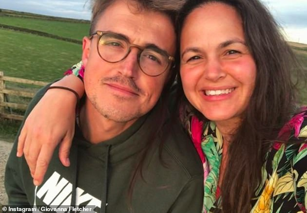So proud: Before she got back home, Tom revealed that the couple had managed to chat on the phone just before midnight on Friday