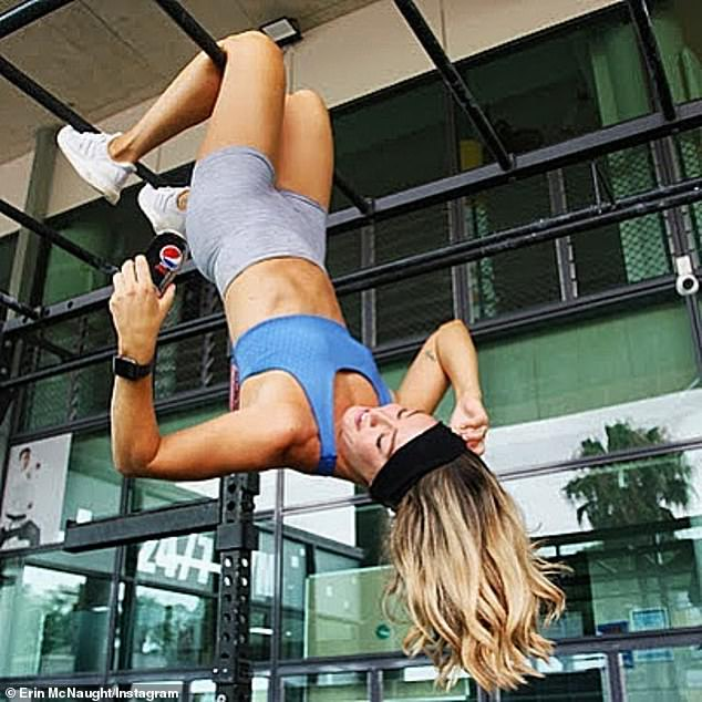 Erin McNaught is slammed for promoting soft drinks on Instagram