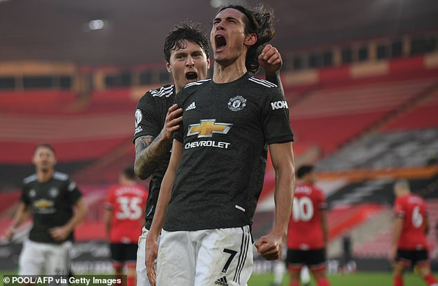 Uruguayan striker Cavani, 33, posted the message in response to a friend on Instagram after scoring twice in United's 3-2 win at Southampton on November 29
