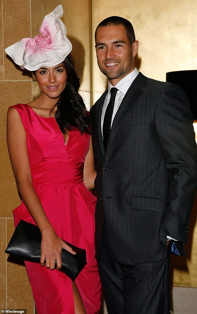 Whatever happened to Pia Whitesell's AFL star ex Brad Miller? Inside the life of the sporting hunk, 38, as Piz makes a new home in ritzy LA after marriage to Patrick. Both pictured