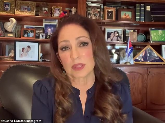 Gloria Estefan posts memorial to her longtime tour bus driver after his death from coronavirus