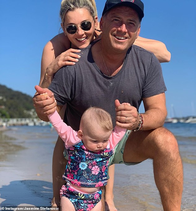 Family: Karl and Jasmine welcomed their first child, daughter Harper May, on May 1 this year