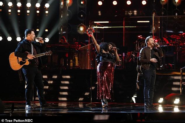 Group performance: Ian, Tamara and Ben performed Tulsa Time