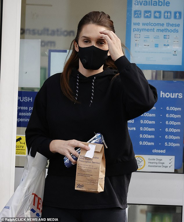 Danielle Lloyd seen for first time after being 'dragged' into Rebekah Vardy andColeen Rooney battle