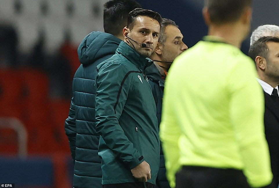 Fourth official Sebastian Coltescu was accused of making the racist remark on the touchline