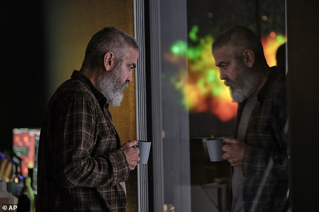 Hollywood titan: The Tender Bar is Clooney's ninth directorial feature, following on from Netflix's The Midnight Sky in which he also starred
