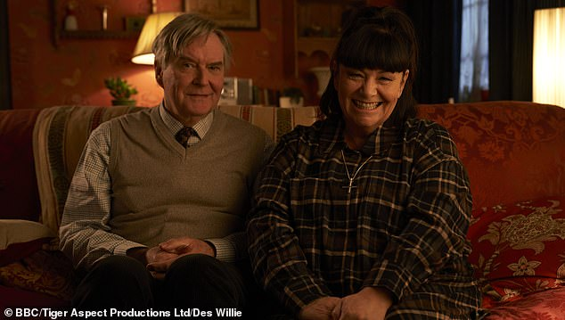 The BBC was forced to defend the 'much-loved' vicar after viewers slammed the first Christmas short 'an abomination'