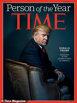 Trump was named TIME's Person of the Year in 2016. That year he shocked the world by beating Hillary Clinton to win the presidential election.