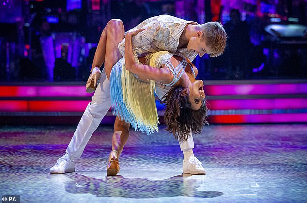 `` If I made it to the final, I will definitely cry good tears '': This year Janette hopes to go all the way with HRVY, who has been top of the table several times this series