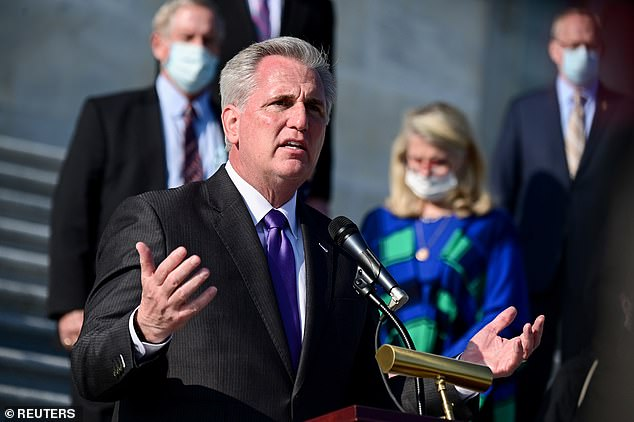 House Minority Leader Kevin McCarthy (R-CA) has signed onto a brief seeking to support a lawsuit by the Texas attorney general seeking to overturn the election
