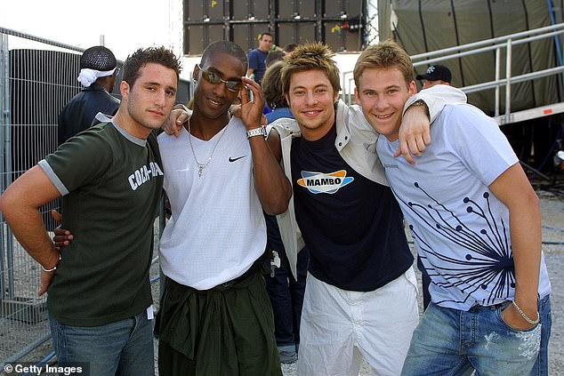 Formation: The band formed in 2000, going on to release three studio albums titled All Rise, One Love and Guilty (pictured in 2001)