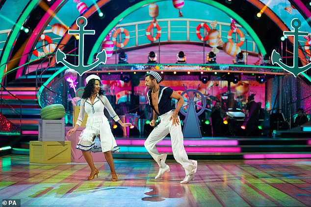 Tough dance:Ranvir and Giovanni's second dance was a Jive to Candyman by Christina Aguilera, and unfortunately, the feedback wasn't so sweet for the couple