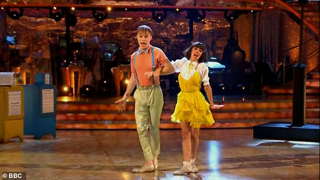 Amazing:However they did bring things back with their second number, dancing a Charleston to Another Day Of Sun by the La La Land Cast