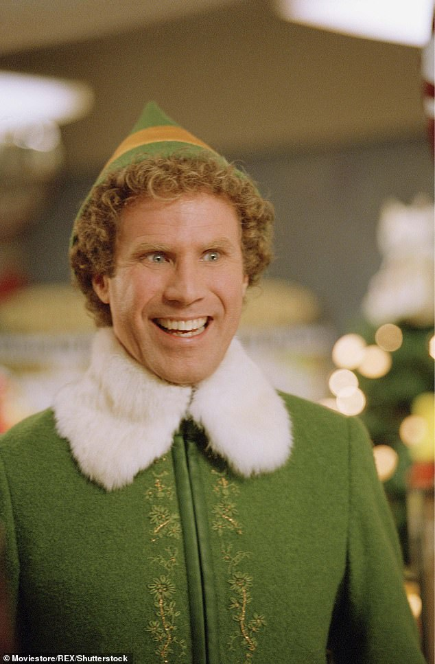 Buddy goes blue: The cast of the 2003 holiday classic movie Elf are reuniting for a virtual table read on Sunday to raise money for Democratic candidates in the Georgia Senate runoff as Will Ferrell, Zooey Deschanel and a slew of special guests join forces for #ElfforGeorgia