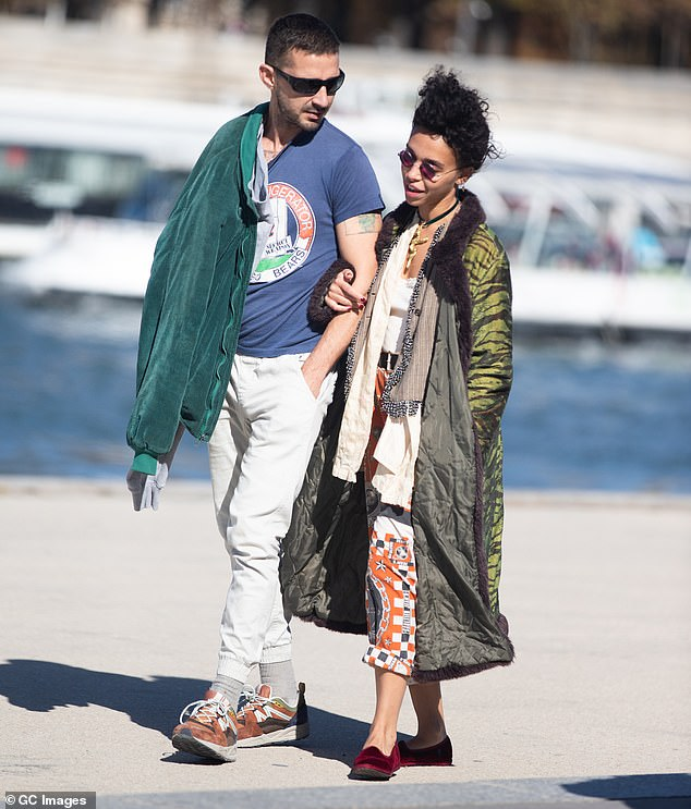 Claims: FKA twigs claims her ex - who she dated briefly in 2019 - knowingly gave her an STD and relentlessly abused her while they were together. The then couple pictured together in Paris in September 2018