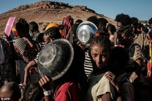 About 50,000 refugees have fled Tigray to Sudan since Ethiopia ordered troops in to confront the region's dissident ruling party