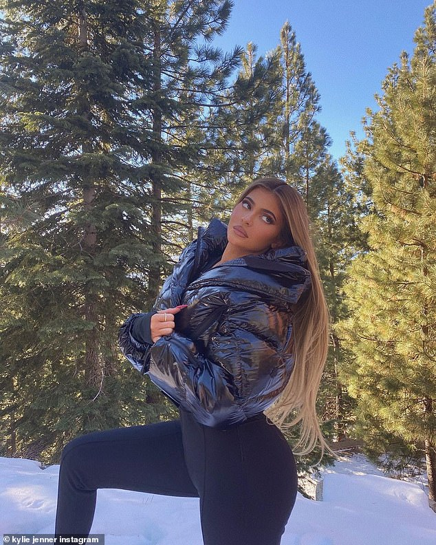Girls' Trip: Instead of having a big get-together for Christmas Eve, Jenner and her sisters, along with their mom Kris Jenner, recently embarked on a lavish trip to Lake Tahoe;  Kylie pictured on December 4th